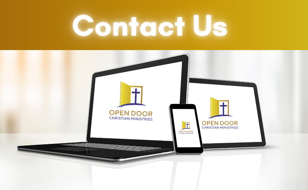 Open Door Christian Ministries Contact Us